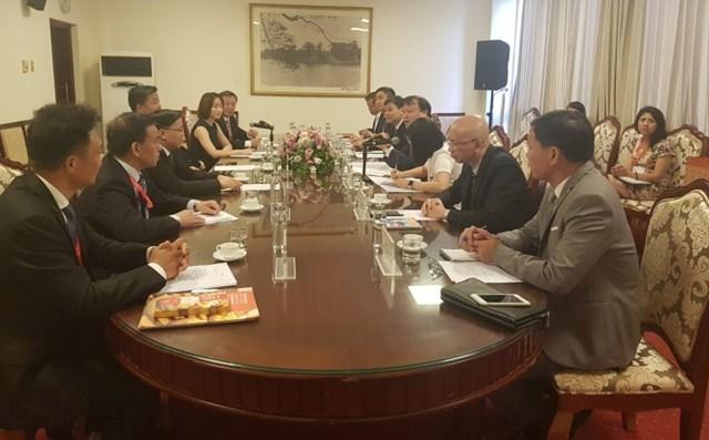 Thứ trưởng Đỗ Thắng Hải hội đàm với Phó Tỉnh trưởng tỉnh Quảng Đông, TQ