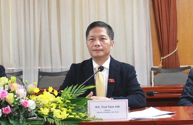 Bộ trưởng tiếp đoàn Ủy ban Thương mại quốc tế Nghị viện Châu Âu (INTA)