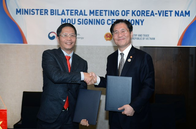 Phát triển quan hệ kinh tế, thương mại, đầu tư Việt Nam-Hàn Quốc