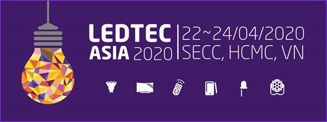 22-24/04/2020: Triển lãm LED/OLED, thiết bị chiếu sáng, bảng quảng cáo 2020.