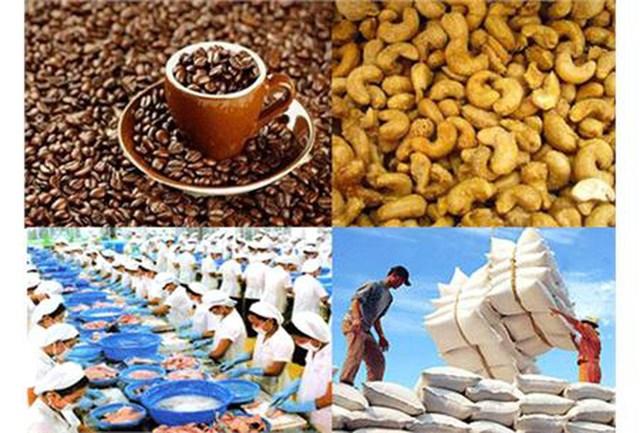 Xuất khẩu nông lâm thủy sản 4 tháng đầu năm giảm 4,9%