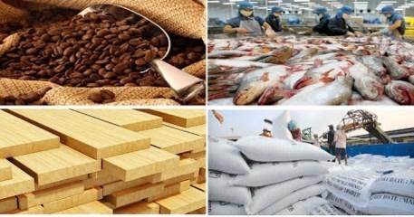 Nông sản xuất siêu 4,5 tỷ USD nửa đầu năm