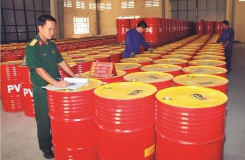 Xăng dầu nhập khẩu chủ yếu từ Hàn Quốc, Malaysia và Singapore