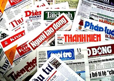 Nghị định của Chính phủ về xử phạt vi phạm trong hoạt động báo chí, xuất bản