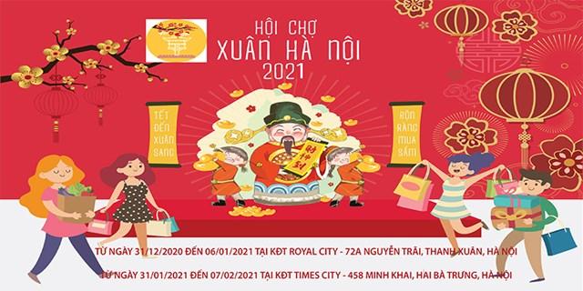 31/12/2020 - 06/01/2021: Hội chợ Xuân Hà Nội năm 2021
