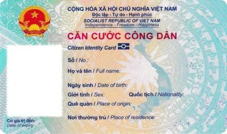 Thông tư số 06/2021/TT-BCA quy định về mẫu thẻ Căn cước công dân