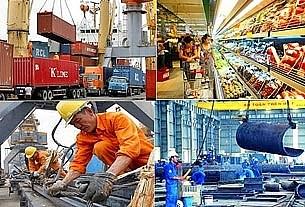 INFOGRAPHICS: Toàn cảnh kinh tế - xã hội 3 tháng đầu năm