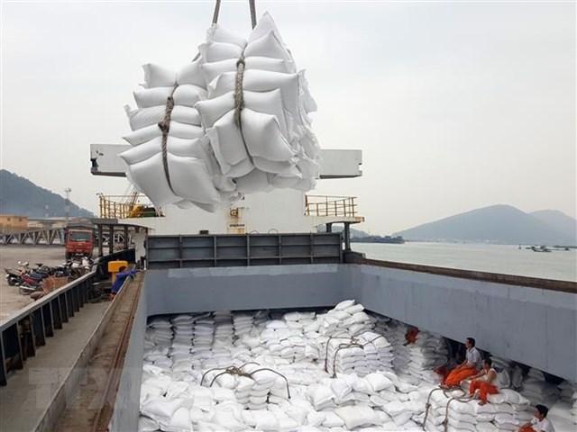 Xuất khẩu gạo 3 tháng đầu năm 2021 sụt giảm