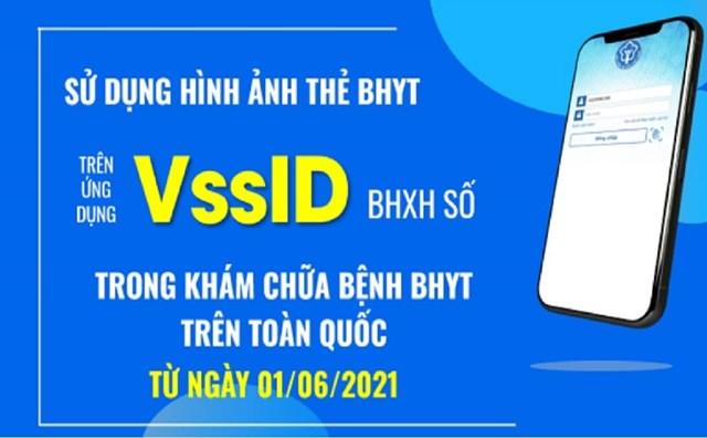 CV 1493/BHXH-CSYT hướng dẫn sử dụng ảnh thẻ BHYT trên ứng dụng VssID để đi khám chữa bệnh