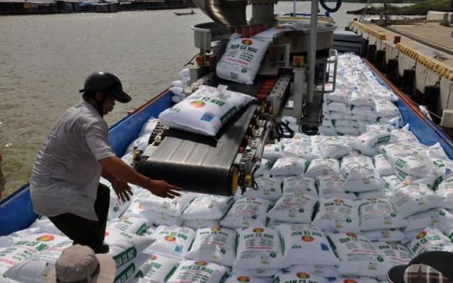 Xuất khẩu phân bón 6 tháng đầu năm 2021
