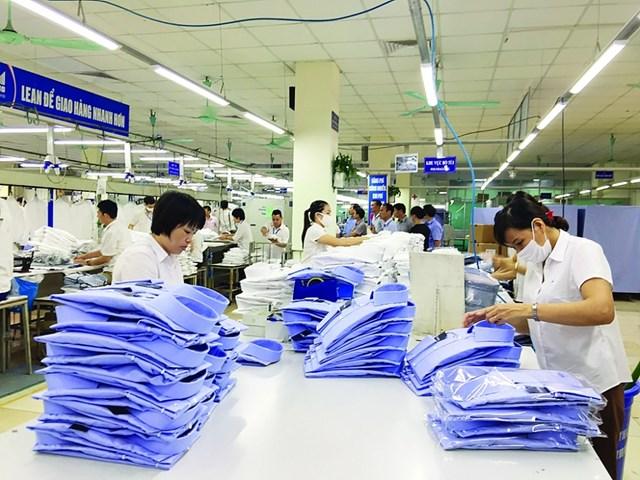 Thị trường xuất khẩu hàng dệt may 8 tháng đầu năm 2021