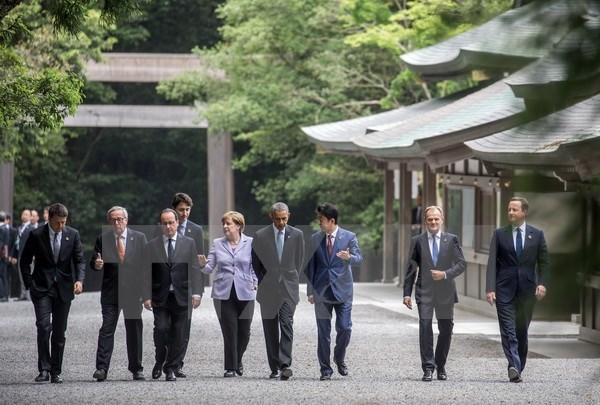 Chính thức khai mạc Hội nghị thượng đỉnh G7 tại Nhật Bản