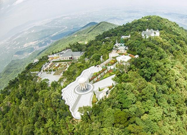 Bà Nà Hills lọt top 5 khu du lịch hàng đầu Việt Nam