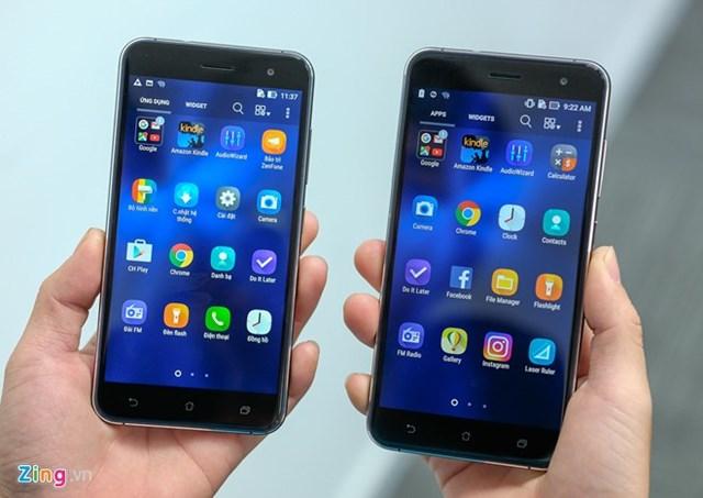 Ảnh 2 phiên bản Zenfone 3 sắp bán ở Việt Nam