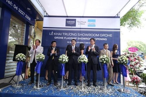 GROHE- thương hiệu thiết bị phòng tắm hàng đầu thế giới hiện diện tại Hà Nội