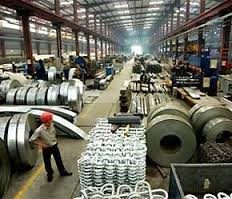 Sản xuất công nghiệp của Trung Quốc trong tháng 7 tăng