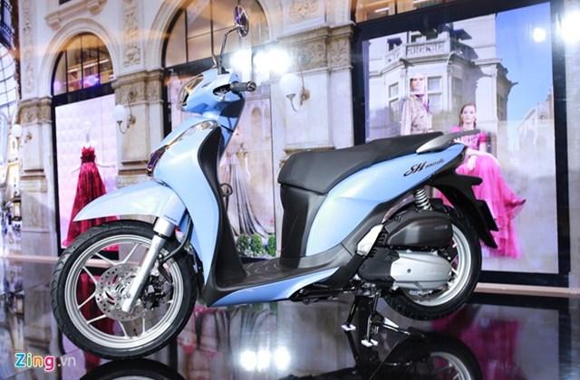 Honda SH Mode thêm khóa thông minh, giá từ 51 triệu đồng