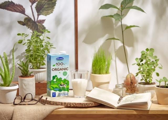Vinamilk ra sản phẩm sữa 100% Organic được sản xuất ở Việt Nam
