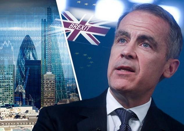 Brexit không còn là rủi ro lớn nhất với sự ổn định tài chính Anh
