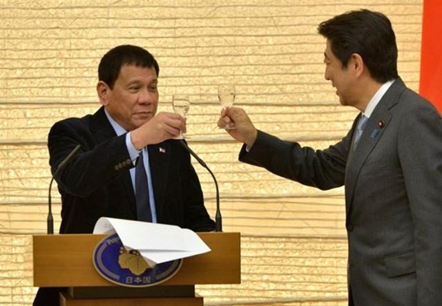 Nhật Bản cam kết gói hỗ trợ trị giá 8,7 tỷ USD dành cho Philippines