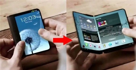 Samsung sẽ ra điện thoại màn hình gập được trong năm nay