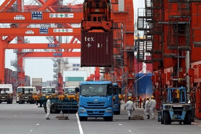 Xuất khẩu của Nhật Bản tăng chậm trong tháng 1