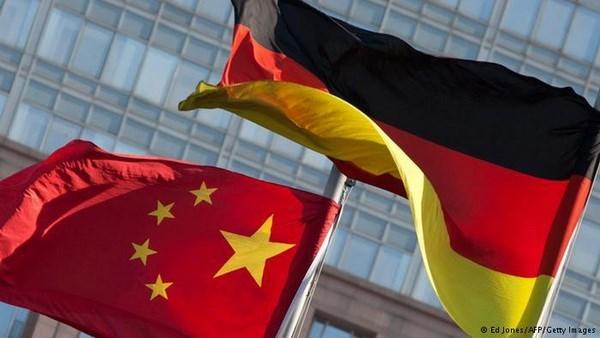 Trung Quốc vượt Mỹ trở thành đối tác thương mại số 1 của Đức