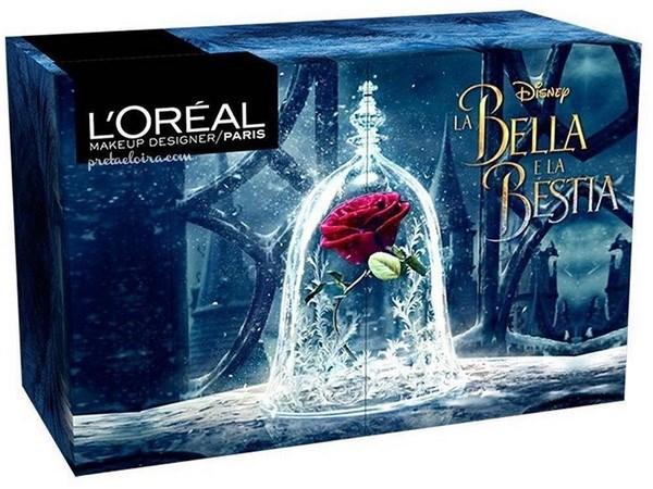 """Bộ mỹ phẩm tuyệt đẹp lấy cảm hứng từ phim """"Beauty and the Beast"""""""