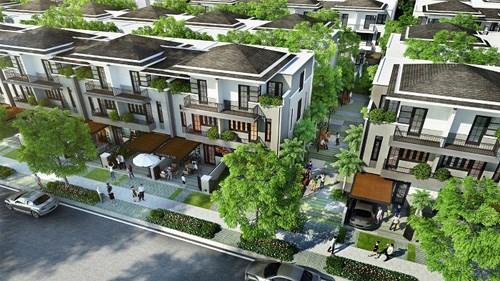 Xu hướng mua biệt thự phố vườn kiến trúc Pháp