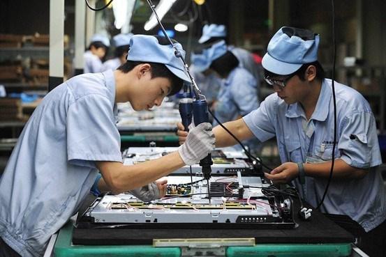 Sản xuất công nghiệp của Trung Quốc tăng 6,3% trong 2 tháng đầu năm