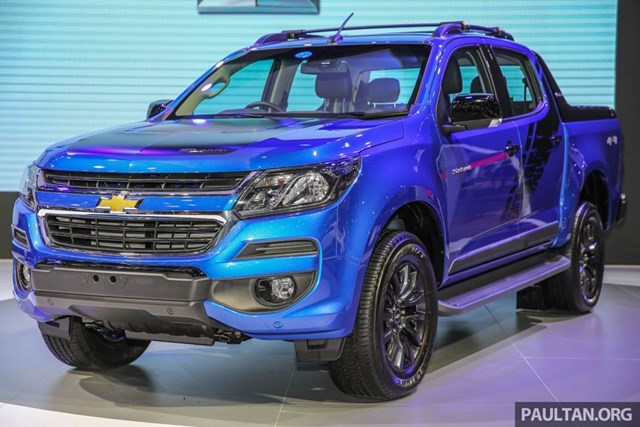 Chevrolet Colorado High Country Storm giá từ gần 30.000 USD