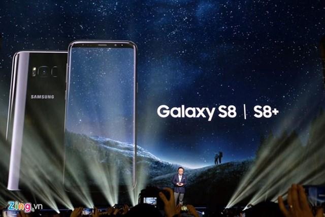 Samsung Galaxy S8 và S8+ ra mắt với màn hình vô cực, 4G tốc độ 1 Gbps