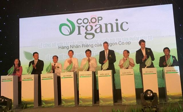 Saigon Co.op ra mắt sản phẩm hữu cơ Co.op Organic tiêu chuẩn quốc tế