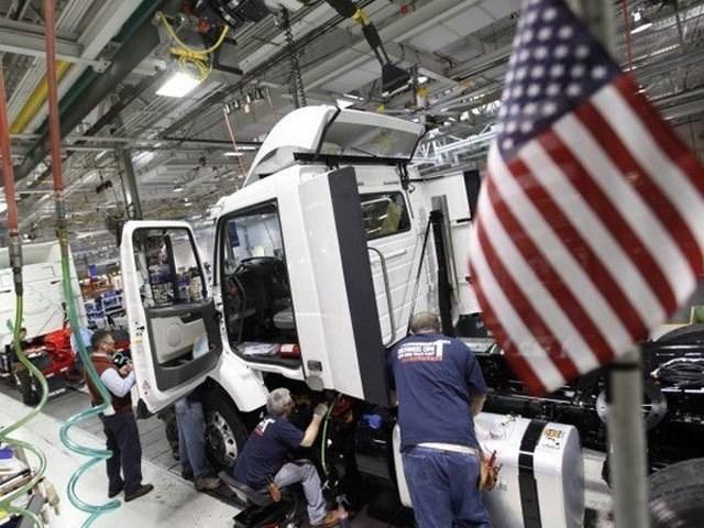 Sản xuất công nghiệp của Mỹ tăng mạnh trong tháng 4