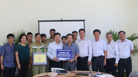 Công đoàn Điện lực Việt Nam thăm hỏi người lao động EVN tại tỉnh Thái Bình
