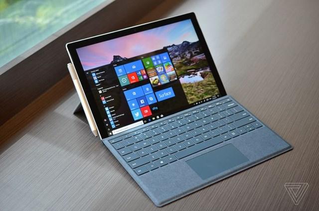 Cận cảnh Surface Pro 2017: Bút cảm ứng cải tiến, lần đầu có bản LTE