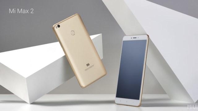 Xiaomi Mi Max 2 ra mắt với màn hình 6,44 inch, pin 5.300 mAh