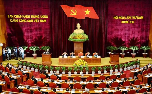 Nghị quyết Hội nghị Trung ương 5 khóa XII về hoàn thiện thể chế kinh tế thị trường