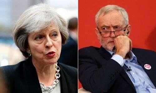 Bà Theresa May có thể thất bại trong bầu cử Anh