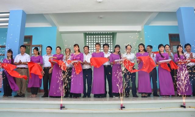 Khánh thành công trình Cộng đồng phòng tránh thiên tai tại tỉnh Quảng Bình