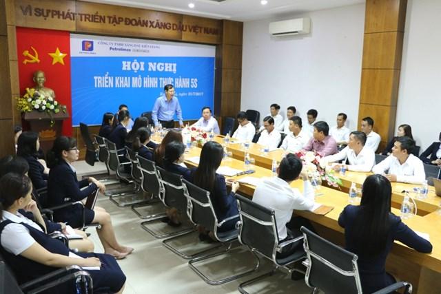 Petrolimex Kiên Giang tập huấn triển khai mô hình 5S