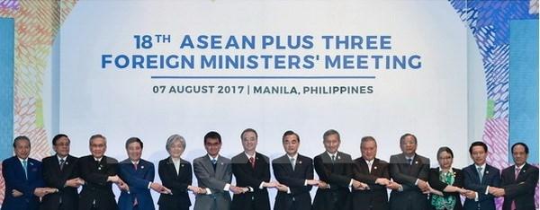 AMM 50: ASEAN+3 nhất trí tăng cường hợp tác về tài chính