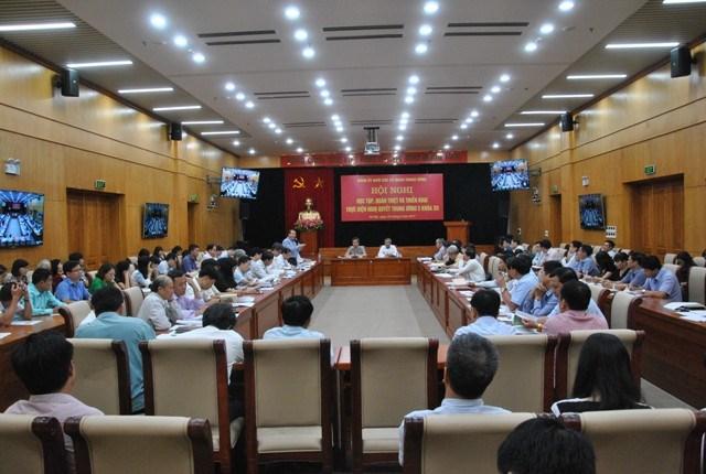 Tiếp tục đổi mới công tác học tập, quán triệt nghị quyết trong Đảng bộ Khối các CQTW