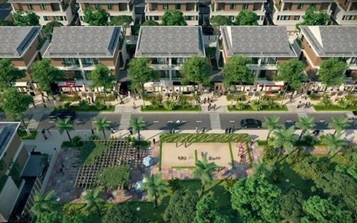 Shop-villa: Mô hình thương mại trong lòng khu đô thị