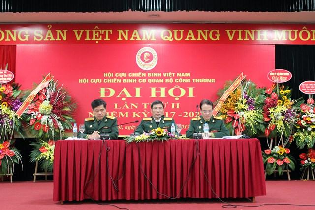 Đại hội Hội Cựu chiến binh Cơ quan Bộ Công Thương lần thứ II nhiệm kỳ 2017-2022