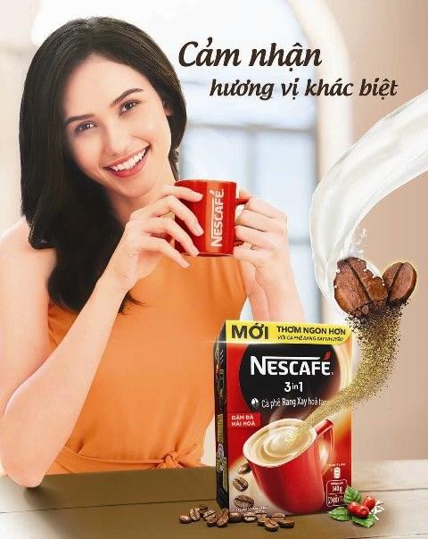 Nescafé ra mắt sản phẩm Nescafé 3 in 1 mới