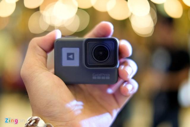 GoPro HERO 6 Black: Quay phim 4K 60 fps giá 12,9 triệu tại VN