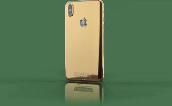 Những chiếc iPhone X sang chảnh mạ vàng, khảm kim cương