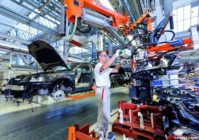 Các đơn đặt hàng công nghiệp của Đức bất ngờ tăng mạnh trong tháng 09.2017