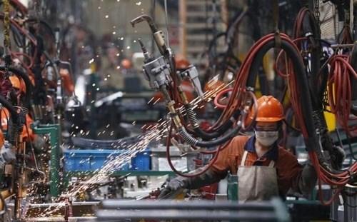 Ngành công nghiệp Trung Quốc tăng trưởng mạnh trong tháng 10